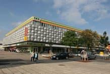 Centrum-Kaufhaus Schwedt, Schwedt/Oder Shopping-Center mit ca. 10.000 m² Einzelhandels- und Bürofläche